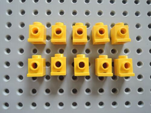 Lego 10 x Stein Snot Konverter Lampenstein Headlight 4070 gelb