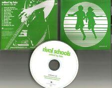 Civ Quicksand RIVAL SCHOOLS United By Fate RARE 2001 ADVNCE PROMO DJ CD USA 2001