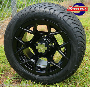 Image Is Loading Golf Cart 12 034 Rally Black Wheels And