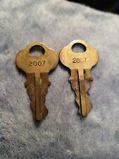 Fountain Soda Machine Keys 2007 Lot Of 2 Used