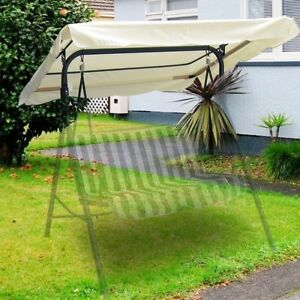 63x47-034-Swing-Canopy-Cover-Replacement-Outdoor-Garden-Patio-Porch-Seat-Top-White