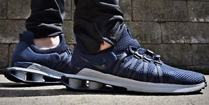 Nike Shox Gravity NEW Men s Running Shoes AR1999 402  150 Obsidian ... caec2eda9