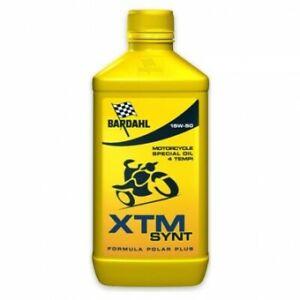 Olio motore moto e scooter XTM POLAR PLUS 15W-50 1 litro Bardahl