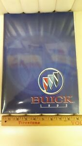 1993-BUICK-Original-Press-Kit-Full-Line-Brochure-Excellent-Condition-US