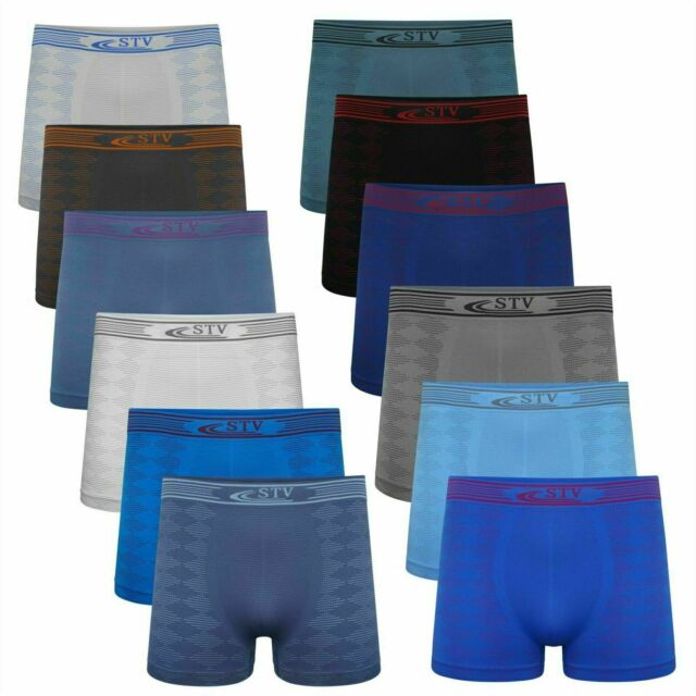 5 Pack Hanes Mens Underwear Cotton Boxer Shorts Front Fly Size S M Large XL 2XL