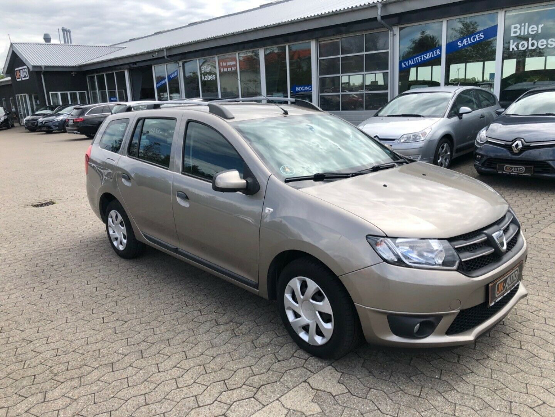 Dacia Logan 1,5 dCi 90 Ambiance MCV 5d - 39.800 kr.