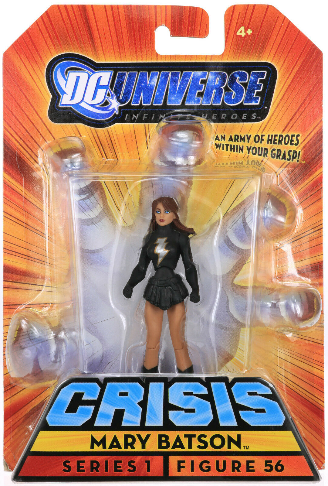 DC Universe Infinite Heroes Crisis MARY BATSON 3.75  Action Figure Mattel