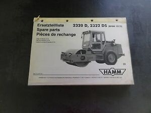 HAMM-2320-D-2320-DO-Roller-Compactor-Spare-Parts-Manual-Catalog