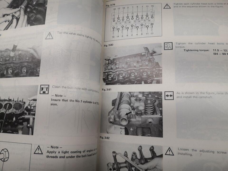 (3)Motorbog, Toyota motorbog L-motor
