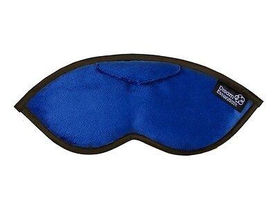 Dream Essentials Opulence Plush Sleep Mask - Plush Navy