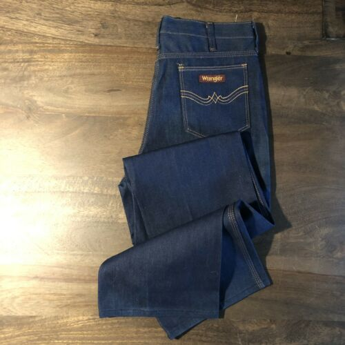 Vintage 1970s-80s  Wrangler Jeans New With Tags Si