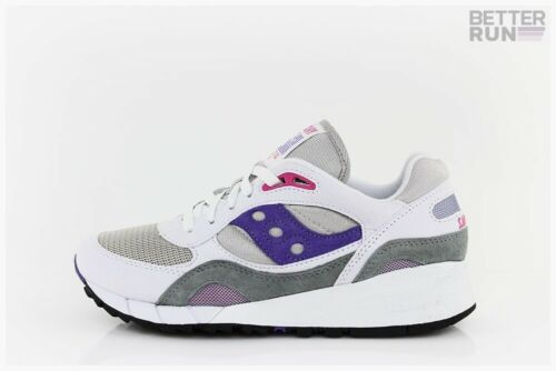 SAUCONY Sneaker-Shadow 6000-White Grey Purple