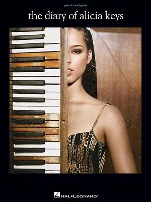 The Diary of Alicia Keys Sheet Music Piano Vocal Guitar Songbook NEW 000306595