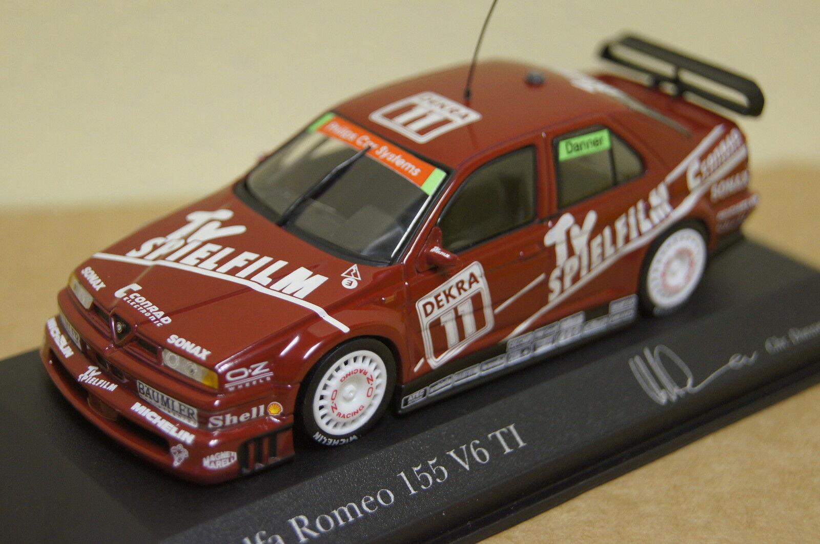 Alfa Romeo 155 V6 TI DTM 1994  43 Minichamps neu & OVP 430940111