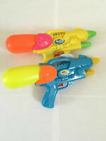 "Water Gun Blaster Water Splash Pistol 12"" Summer Holiday Fun Kids Toy Set Of 2"
