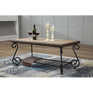 Image Is Loading Design Industrial Style Coffee Sofa Table 2 Shelf