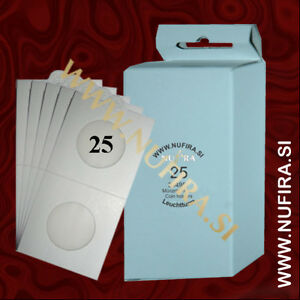 Lighthouse-Leuchtturm-Coin-Holders-Self-adhesive-50x50mm-25-mm-25x