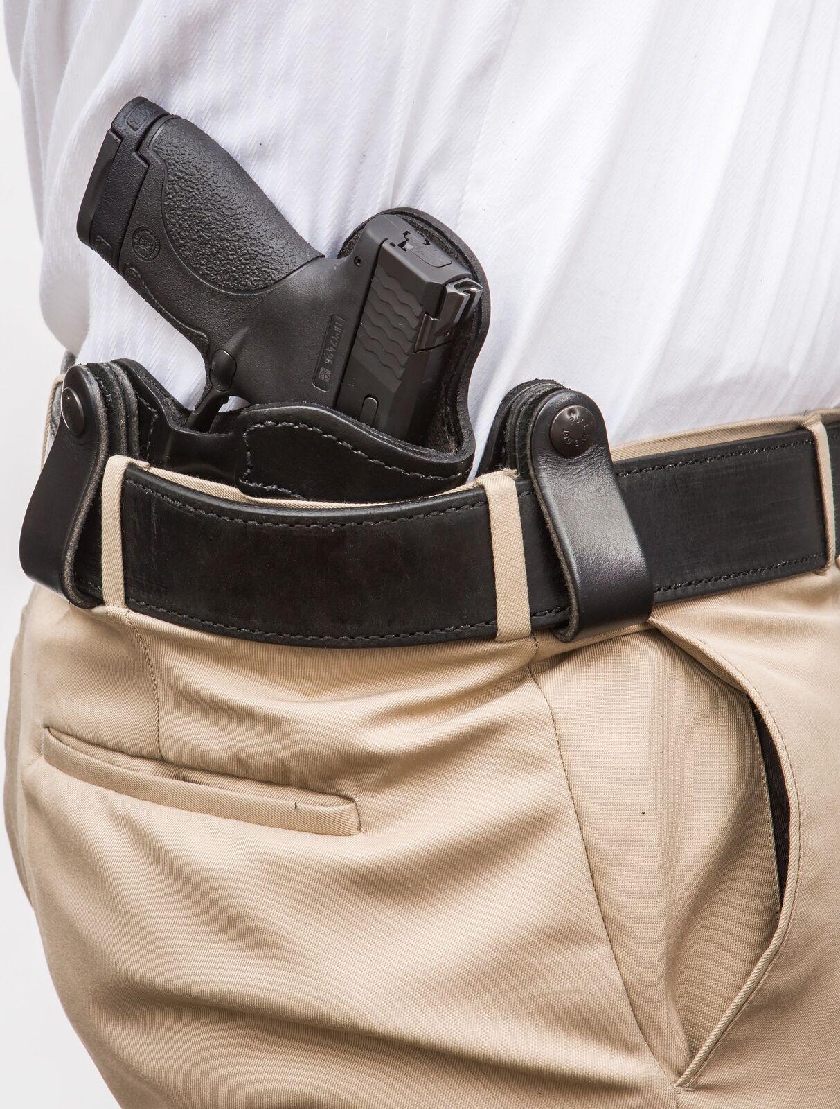 XTREME CARRY Dan RH LH IWB Leder Gun Holster For Dan CARRY Wesson 1911 5