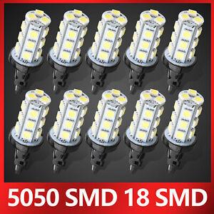 10PCS-6000K-3157-68-SMD-LED-TAIL-BRAKE-STOP-LIGHT-BULBS-T25-3057-3457-4157-WHITE