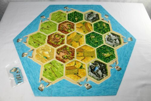 Replacement Parts Pieces Settlers of Catan 4rd Edition 2007 Mayfair Games CHOICE