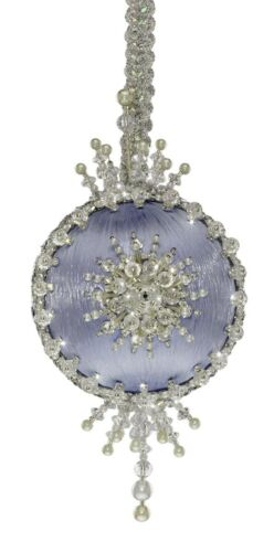 The Cracker Box Arabesque Emerald Ball with Silver Accents