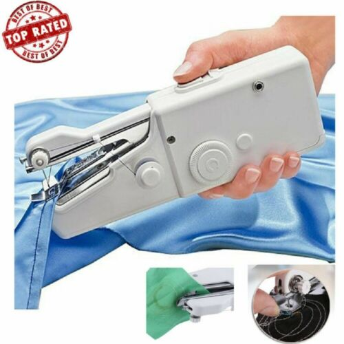 Portable Smart Mini Electric Tailor Stitch Hand-held Sewing Machine Home US