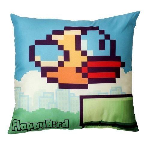"""24 X Flappy Bird Impreso Almohada Cojín 16x16/"""" Cojines Trabajo Lote Nuevo aclaramiento"""
