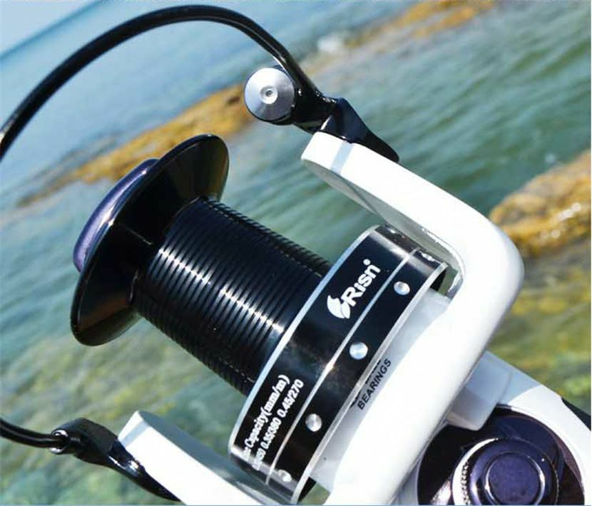 Risn Beach Surf Sea 15+1BB spinning reel heavy duty Carp Pike Pike Carp Fishing Reel 4.1:1 122c13