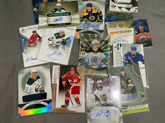 Hockey Card Hot Pack! Jerseys, Autos, Young Guns and PREMIUM HITS 10 Cards Total