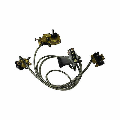 Hydraulic Pessure Brake Assembly for Kandi Go Kart 110cc  KD-110GKG-2