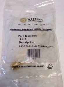 Regulator Inlet Nipples Western Enterprises 80 Pack