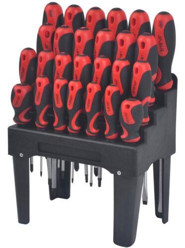 KING Jeu de tournevis avec support 26 pièces magnétique Astuce Tournevis Variété Pack