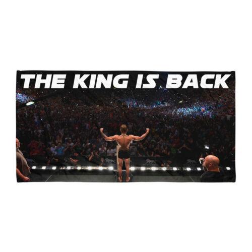 Conor McGregor le roi est de retour MMA UFC Serviette à main