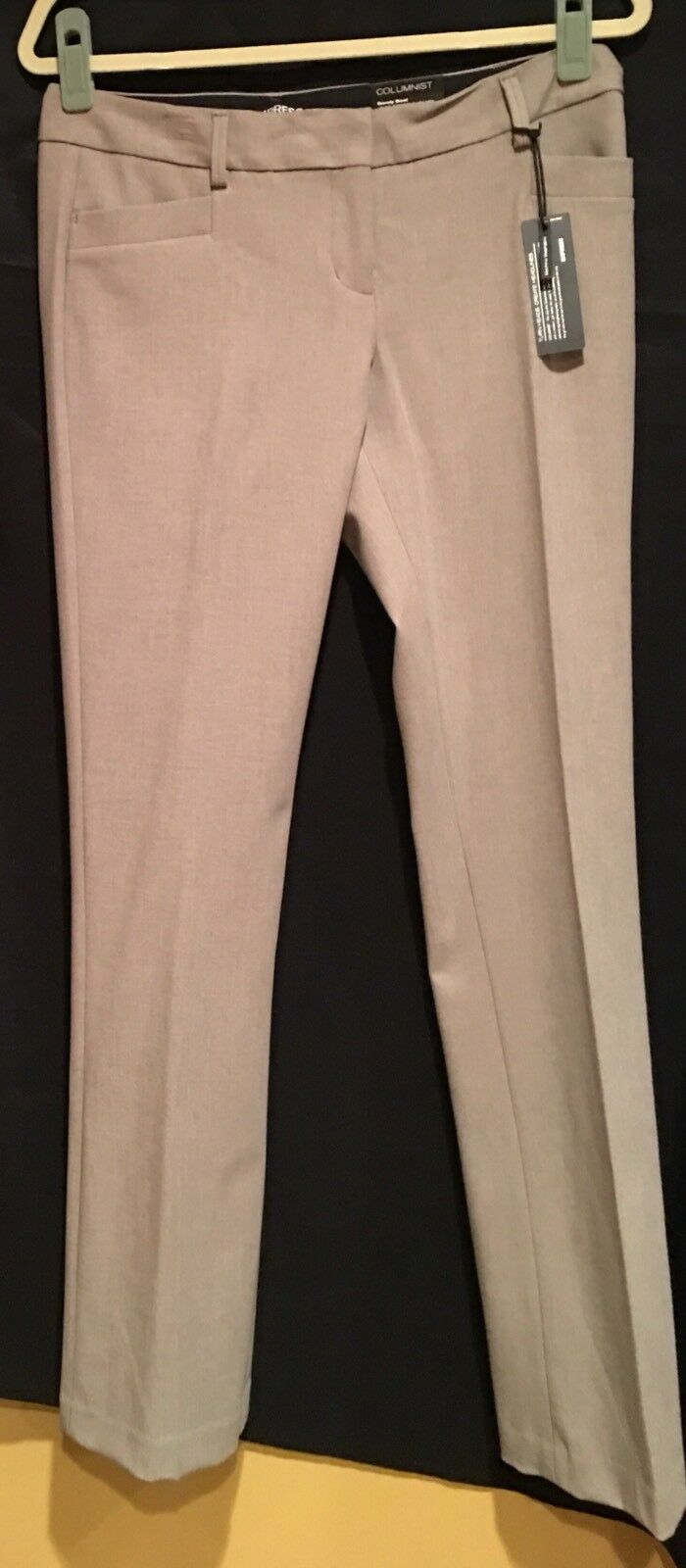 NWT EXPRESS COLUMNIST barely boot fitted hip thigh Pants-Sz-6R