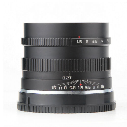 Zonlai 35mm f1.6 Fujifilm X-mount Manual Lens for Fuji Mirrorless X-A1 X-A2 X-A3