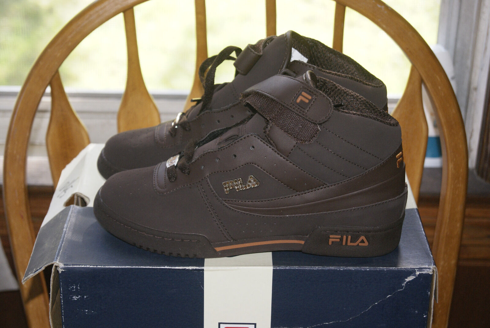Women's Fila F 13 Gem FB / Syn Brown Orange 7.5 or 8 New shoes for men and women, limited time discount