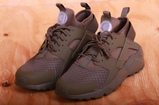 8de554087282 Nike Air Huarache Run Ultra Medium Olive   Cargo Khaki Green 819685 204 Sz  8-