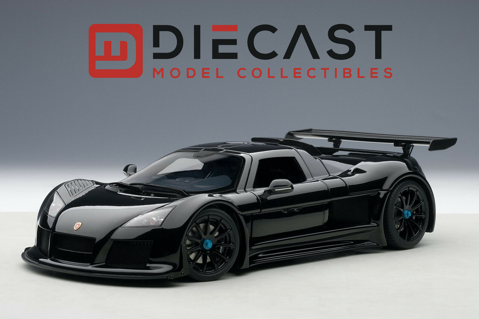 AUTOART 71301 GUMPERT APOLLO, noir brillant 1 18TH échelle