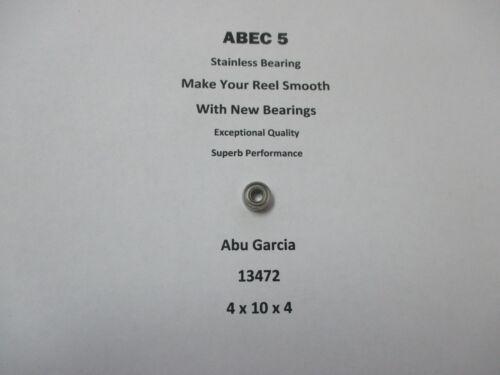 Abu Garcia Moulinet partie 6000 90-01 13472 ABEC 5 Inox Roulement 4 x 10 x 4 #10