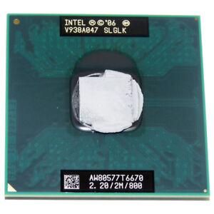 Intel-Core2-Duo-Mobile-T6670-Penryn-2-2GHz-800MHz-Socket-P-Dual-Core-45nm-Proces