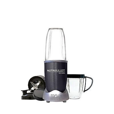 NEW Nutribullet 1000 watt 9 piece Nutrient Exractor: Dark Grey: N10-0907DG