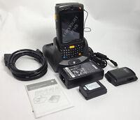 Symbol Motorola Mc75a0 Mc75a Wireless 2d Barcode Scanner Wifi Mc75 Gps + Cradle