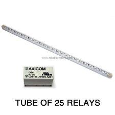 25 X DPDT Relay - Tyco/Axicom V23105A 1A Relay 9V 150mW Coil