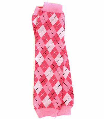 boys girls infant toddler child leg warmers light pink argyle arm warmers