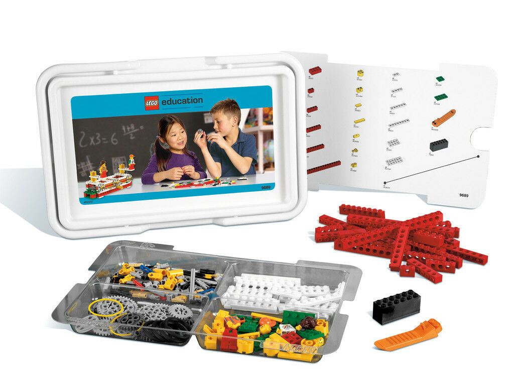 Lego Education Simple Mechanical from 7 Years 9689 Addittion 9686