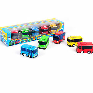 Tayo Little Mini Bus Toy 5pcs Wind Up Car Toy Kids Toys Character Play Figure Ebay