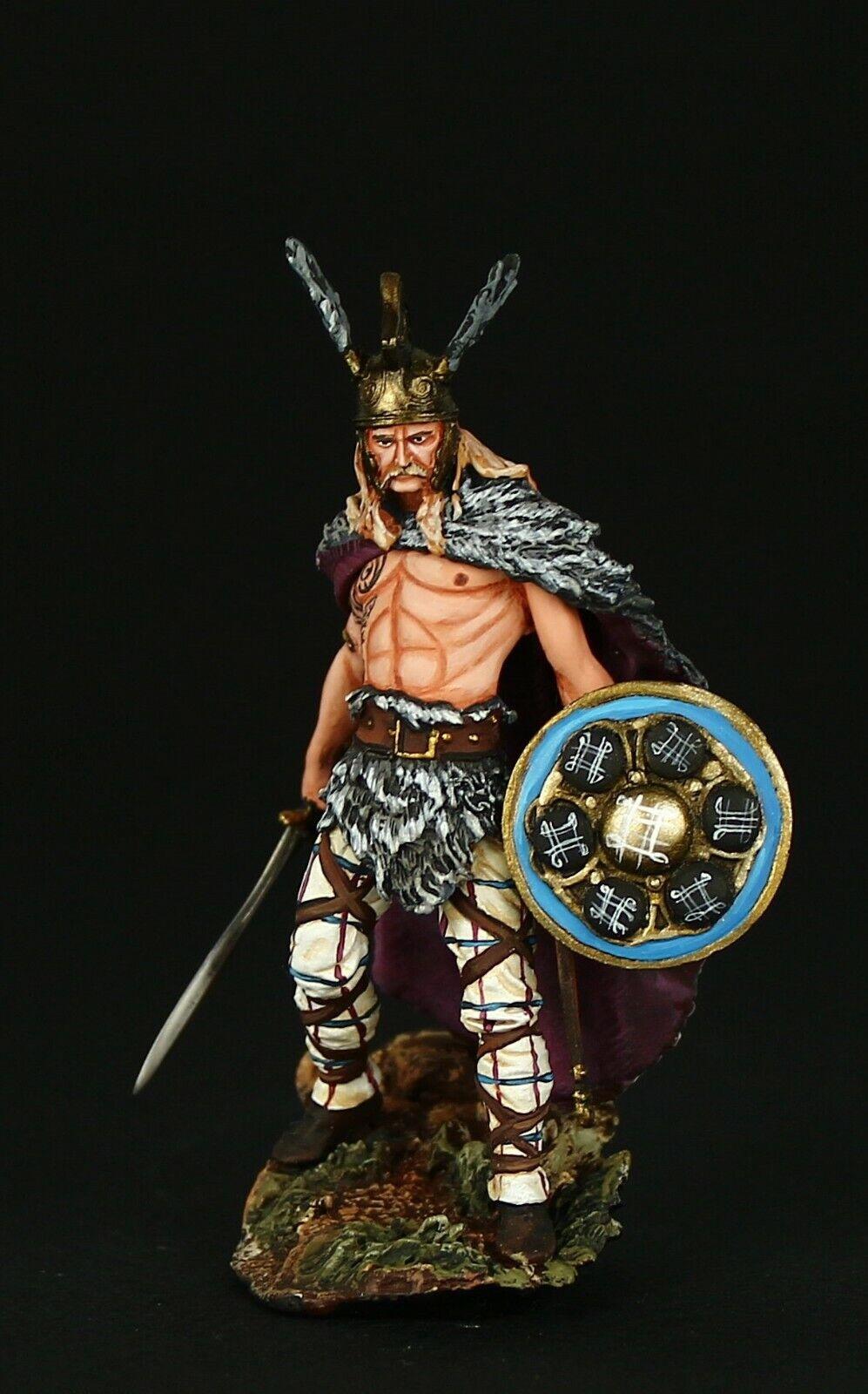 Tin soldier, Vercingetorix, 52 B.C., 54 mm, Barbarians