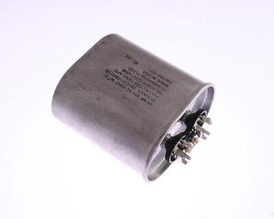 1x 10uF 550VAC Motor Run Capacitor 550V AC 10mfd 550 Volts Pump Unit 10 mfd 90C