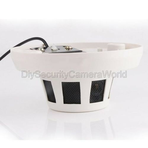 HD 1080P 2.8MM Smoke Detector Camera Mini Dome Indoor Security P2P IP Camera PoE