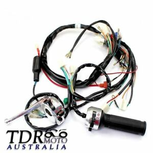 wire harness supports wiring diagramfor honda z50 gorilla monkey complete wiring harness assembly